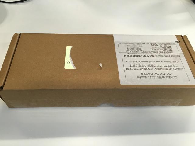 Apple Pencil の箱