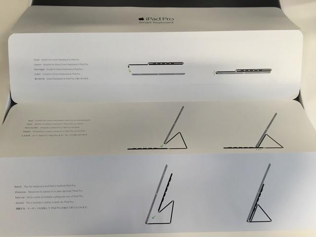Smart Keyboard の取説