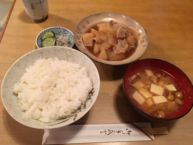 【神楽坂ランチ】おでん せつ − 肉じゃが定食はご飯もウマい♪