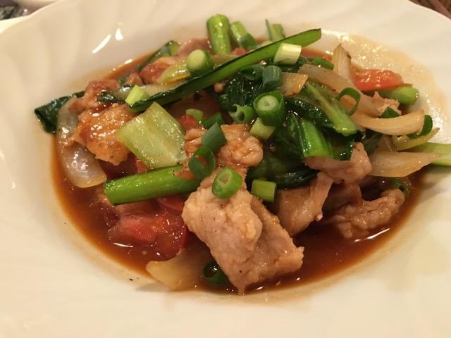 バイヨン - 豚野菜炒め