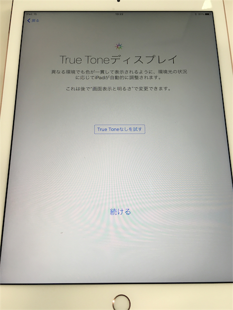 iPad Pro - True Tone Display
