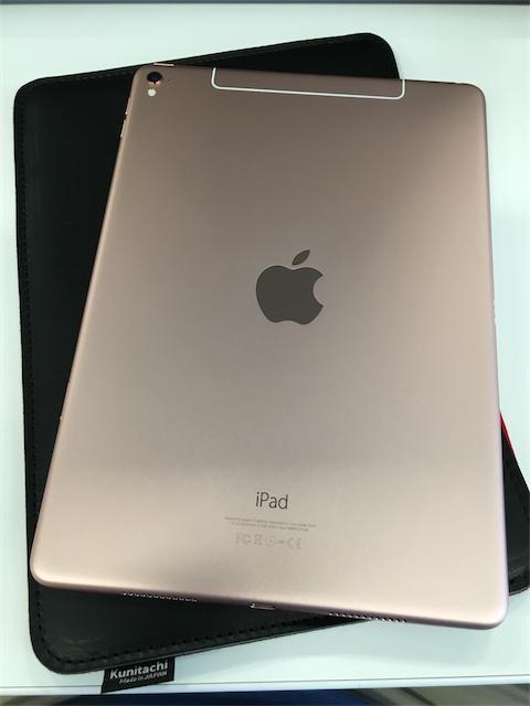 【速報】写真で見る 9.7インチ iPad Pro 256GB ローズピンク WiFi+Cellular【開封の儀】