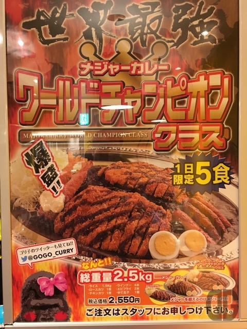 Gogo curry world class