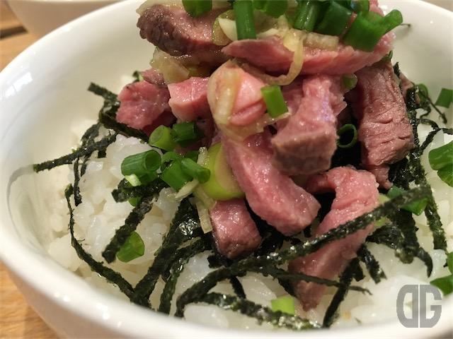 CAFE & BAR 1363(イチサンロクサン) 神楽坂 〜 ハーフローストビーフ丼&ハーフうどん