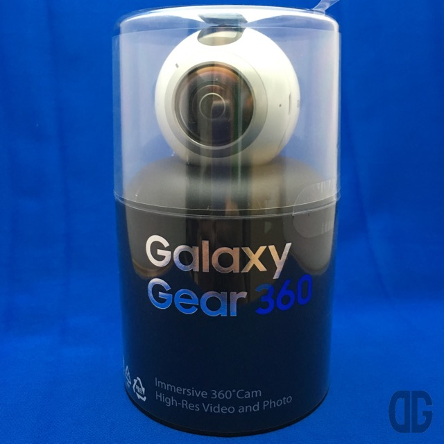 Galaxy Gear 360 をゲット!早速、開封♪