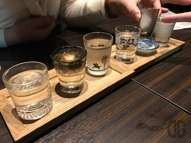 三軒茶屋 旬菜酒肴 晴ルル 三茶 〜 美味しい地酒を呑み比べながら、おばんざいをいただく
