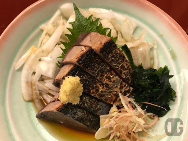 神楽坂 別亭鳥茶屋 〜 今シーズンお店一番の初鰹をいただきました!