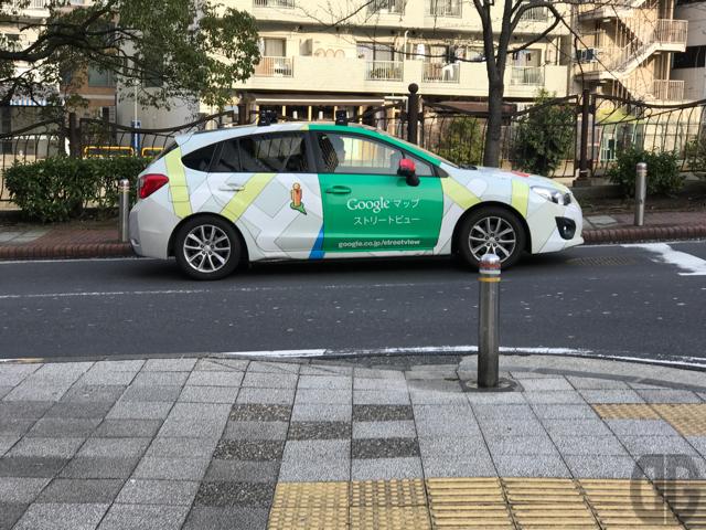 Googleストリートビューカーをハッケン!!