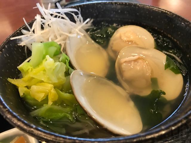 神楽坂の九頭龍蕎麦でランチ。今日から始まったはまぐり蕎麦をいただく