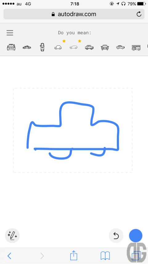 AutoDrawで絵心ない人の絵がカンタンにプロのイラストに!GoogleとAIの底力を見た