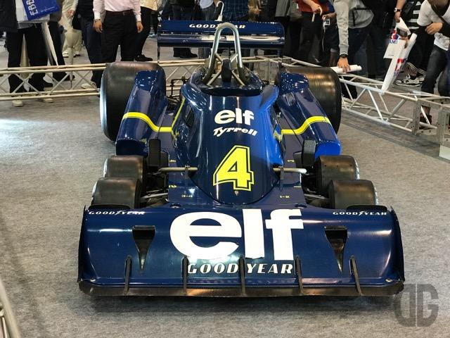 Tyrrell P34 (ティレル P34)の実車を見た!ついでに模型もね♪ 〜 静岡ホビーショー タミヤブース