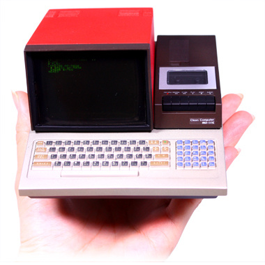 ハル研究所 PasocomMini ウホッ!往年の名機が手のひらサイズで蘇る!MZ-80C / PC-8001 / FM-7 だって!