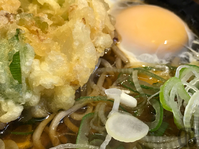 新橋 そば田 で出来たてのミニかつ丼と揚げたてのかき揚げをいただく