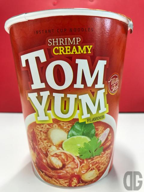 Mee Thai CREAMY TOM YUM (ミータイ トムヤンクンヌードル) で本場の味を楽しむ。酸っぱくない♪