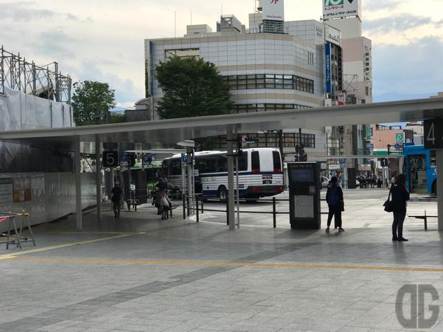 甲府駅からバスに乗って新宿に行こう!