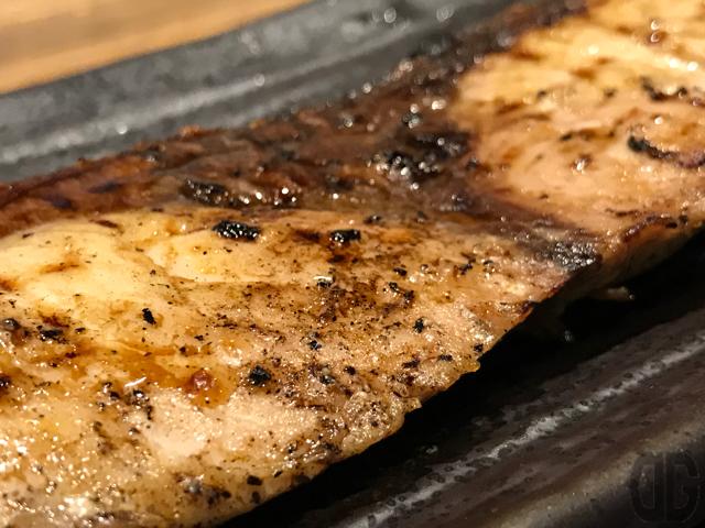 炭火焼干物食堂、越後屋亀丸(飯田橋)で日替わり定食、鰤の昆布醤油焼きをいただく
