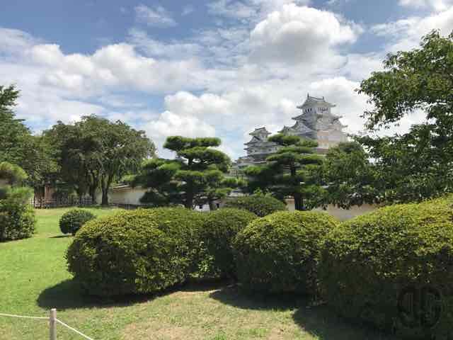 姫路城の西の丸・百間廊下・化粧櫓を見学し、歴史を感じる