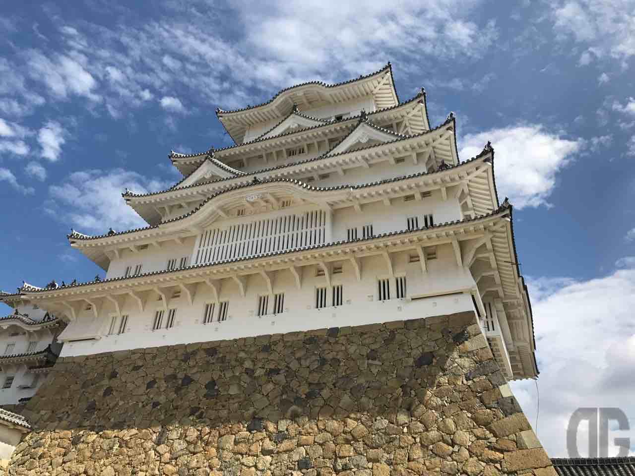 真夏の暑い中、姫路城に行ってきました。やっぱり私の城ランキングぶっちぎりの1位!