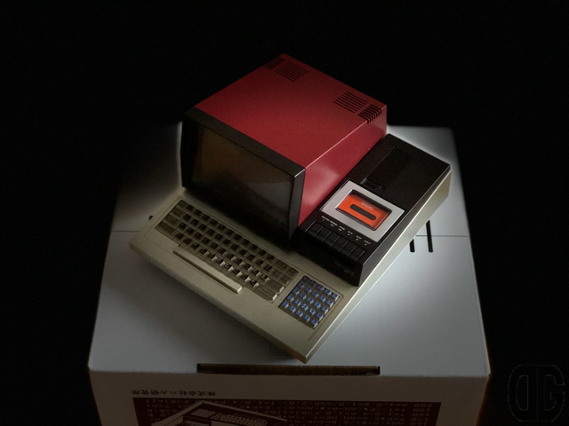 PasocomMini MZ-80Cが届いた♪とりあえず、開封の儀と動作確認してみたよ♪
