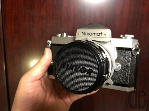 ニコマートFT。50年前から実家に合った一眼レフカメラ。ついにナゾが解明