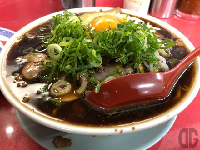 中華そば専門新福菜館本店で特大肉多め+焼飯をいただく。京都ラーメンの定義って何?