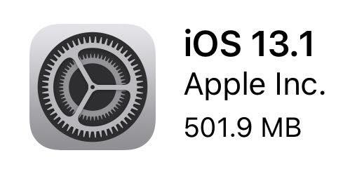 iOS 13.1(17A844)リリース。まだまだ不安定か?iOS13の人はアップデートしよう!その他の人はまだ待ちかな。